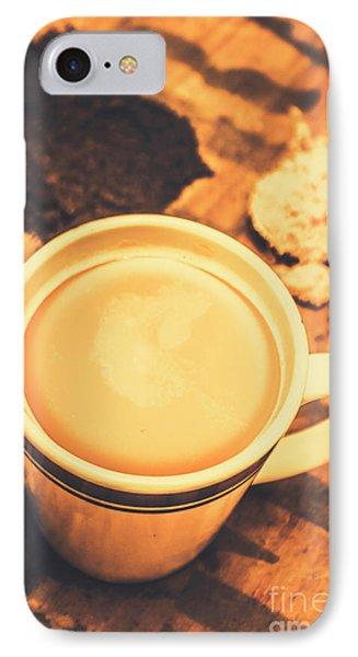 English Tea Breakfast IPhone Case