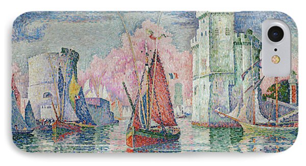 Entrance To The Harbour Of La Rochelle IPhone Case