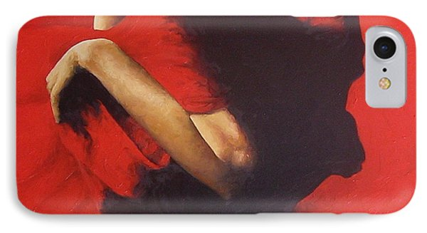 Nudes iPhone 8 Case - Entrapped by Trisha Lambi