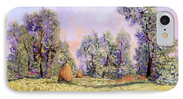 Impressionism iPhone 8 Case - Esercizi Impressionisti by Guido Borelli
