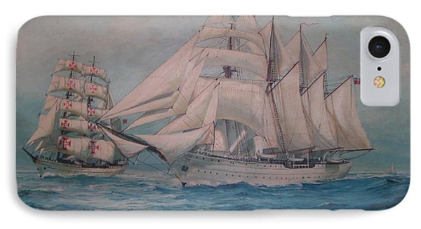 Esmerelda And The Sagres Tall Ships IPhone Case