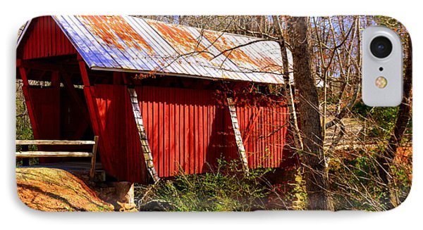 Est. 1909 Campbell's Covered Bridge IPhone Case
