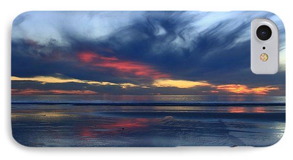 IPhone Case featuring the photograph Ethereal Beach Blues by John F Tsumas