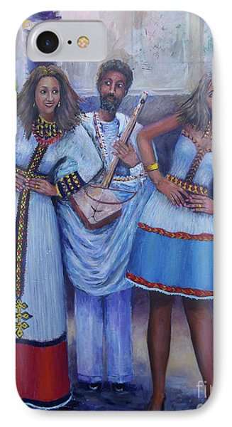 Ethiopian Ladies Shoulder Dancing IPhone Case