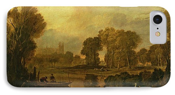 Eton College From The River IPhone Case