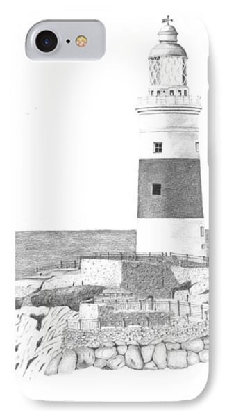 Europa Point Lighthouse IPhone Case