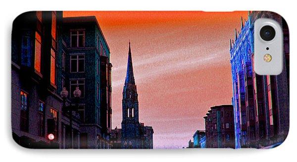 Evening In Boston IPhone Case