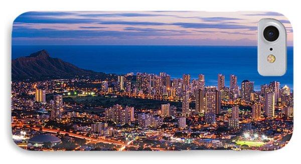 Evening In Honolulu IPhone Case