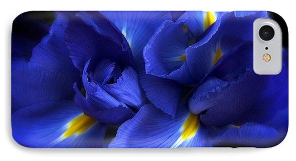 Evening Iris IPhone Case