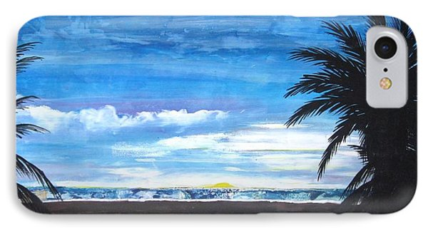 Tropical Evening IPhone Case