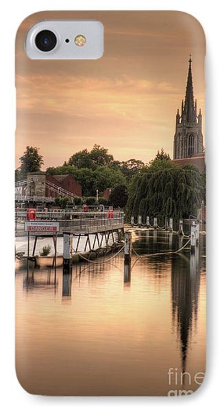 Evening Over Marlow IPhone Case