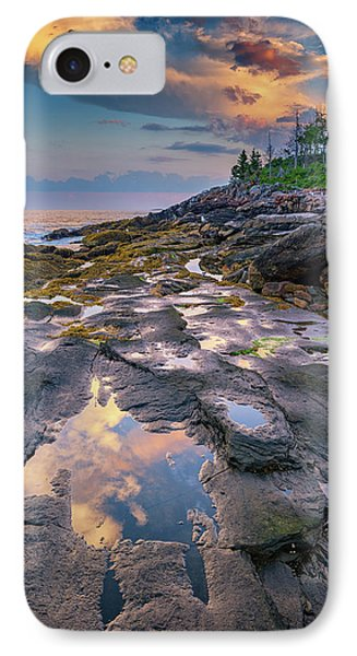 Evening Reflection, Bristol, Maine IPhone Case