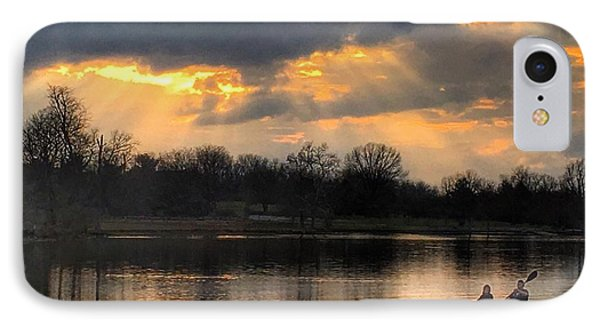Evening Relaxation IPhone Case