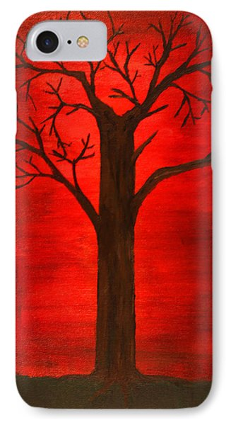 Evil Tree IPhone Case