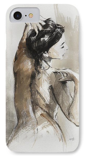 Nudes iPhone 8 Case - Expression by Steve Henderson