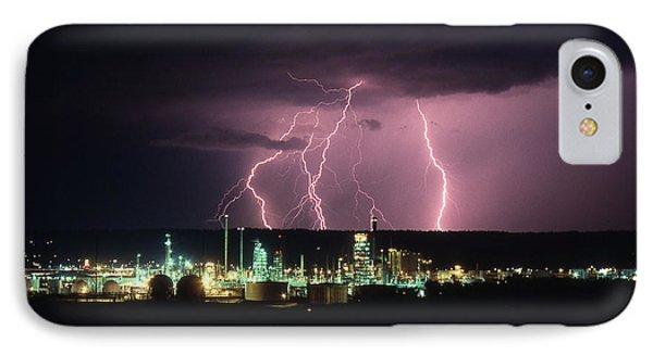 Exxon Lightning IPhone Case