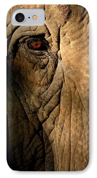 Eye Of The Elephant IPhone Case
