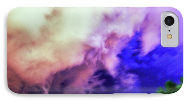 Nebraskasc iPhone 8 Case - Faces In The Clouds 002 by NebraskaSC