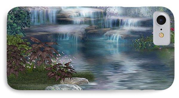 Fairies Hidden Lake IPhone Case