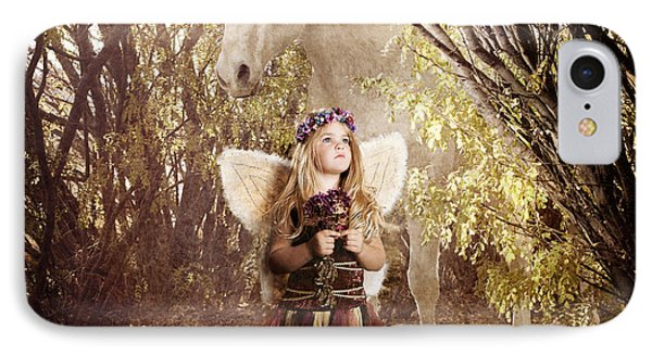 Fairy And Unicorn IPhone Case