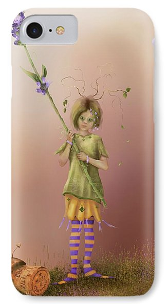Fairy Bella Lavender IPhone Case