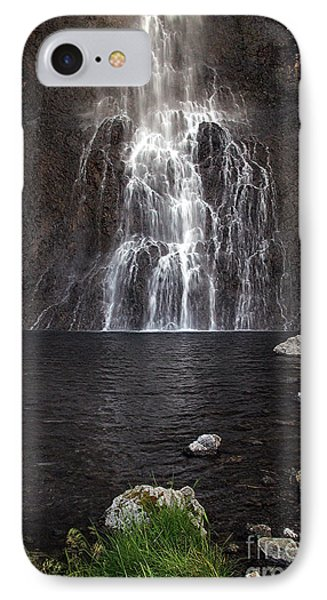 IPhone Case featuring the photograph Fairy Falls - Yellowstone National Park by Craig J Satterlee