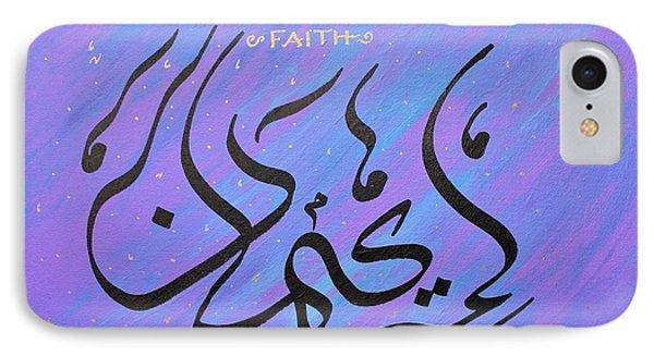 Faith Vibrant IPhone Case