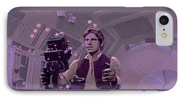 Falcon Gun Turret IPhone Case