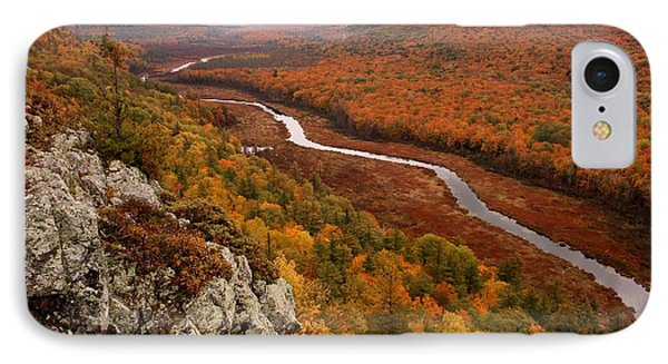 Fall Colors - Lake Of The Clouds IPhone Case