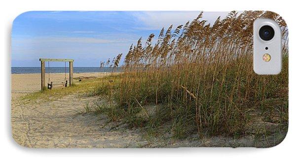 Fall Day On Tybee Island IPhone Case