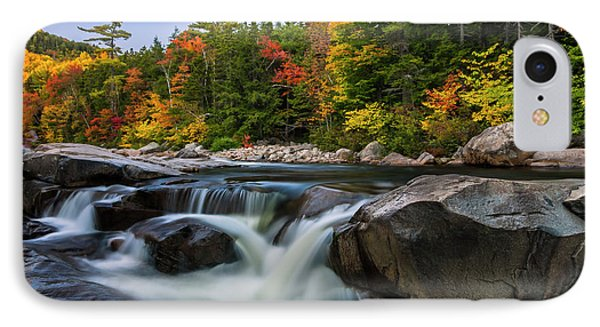 Fall Foliage Along Swift River In White Mountains New Hampshire  IPhone Case