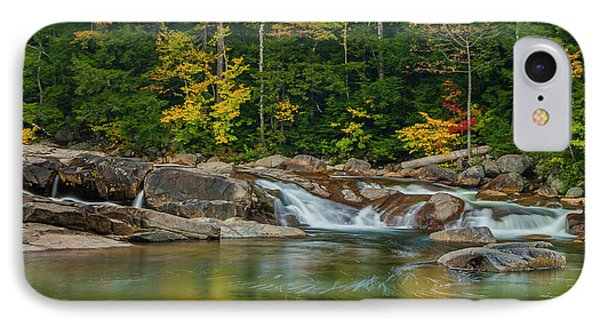 Fall Foliage In Autumn Along Swift River In New Hampshire IPhone Case