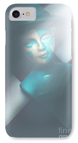 Fallen Blue King Of The Grand Chessboard IPhone Case