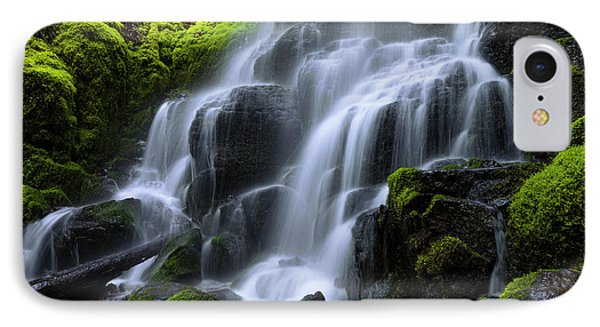 Fairy iPhone 8 Case - Falls by Chad Dutson