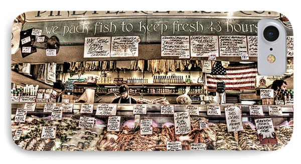 Famous Fish At Pike Place Market IPhone Case