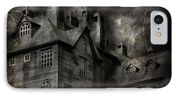 Fantasy - Haunted - It Was A Dark And Stormy Night IPhone Case