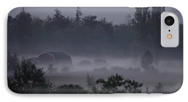 Farm In Fog IPhone Case