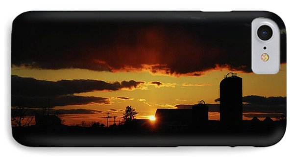 Farmer's Sunset IPhone Case