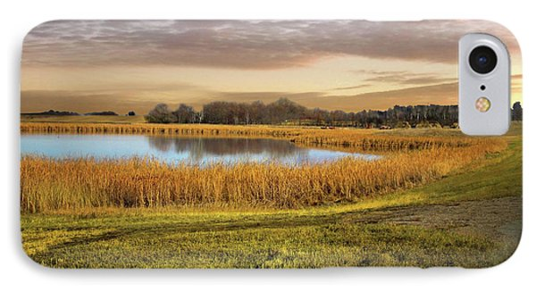 Farmland Pond IPhone Case