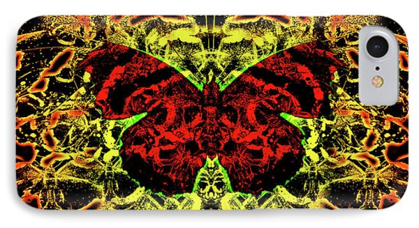 Fear Of The Red Admirals IPhone Case