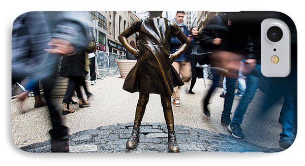 Fearless Girl IPhone Case