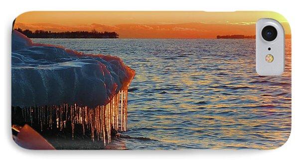 Feburary Sunset Cape Vincent IPhone Case