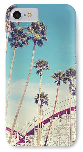 Feels Like Summer - Boardwalk Roller Coaster Photograph IPhone Case