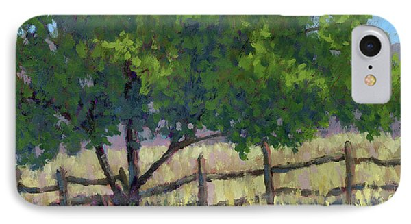 Fence Line Tree IPhone Case