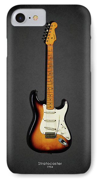 Music iPhone 8 Case - Fender Stratocaster 54 by Mark Rogan