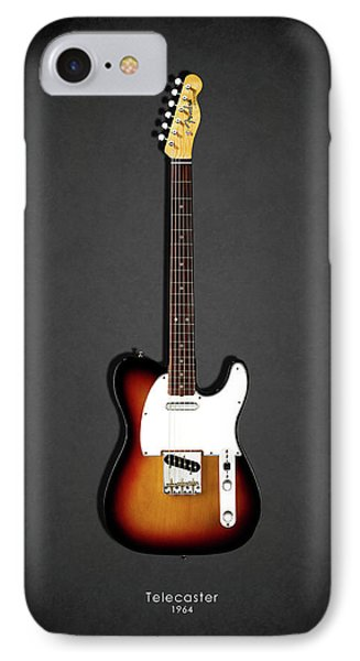 Rock And Roll iPhone 8 Case - Fender Telecaster 64 by Mark Rogan