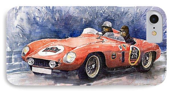 1953-1955 Ferrari 500 Mondial 1000 Miglia IPhone Case