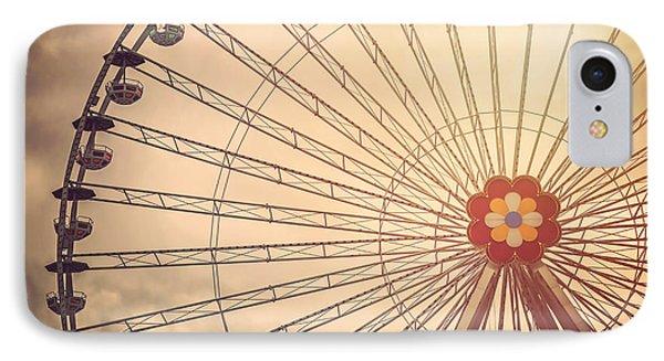 Ferris Wheel Prater Park Vienna IPhone Case