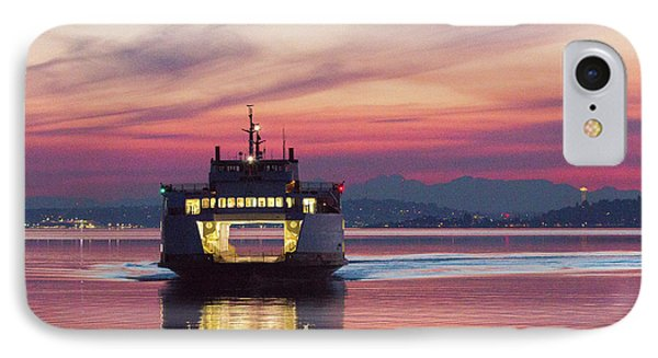 Ferry Issaquah Docking At Dawn IPhone Case