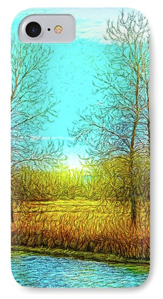 Field In Morning Light IPhone Case